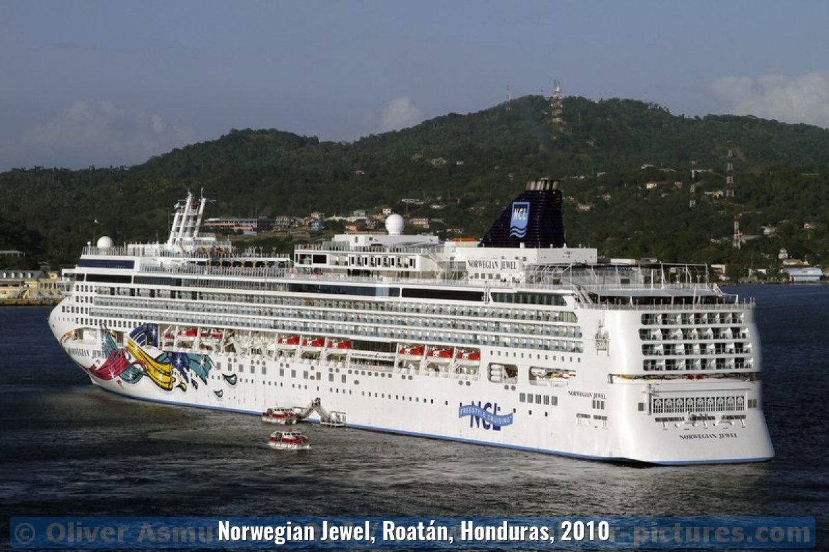 Norwegian Jewel, Roatán, Honduras, 2010