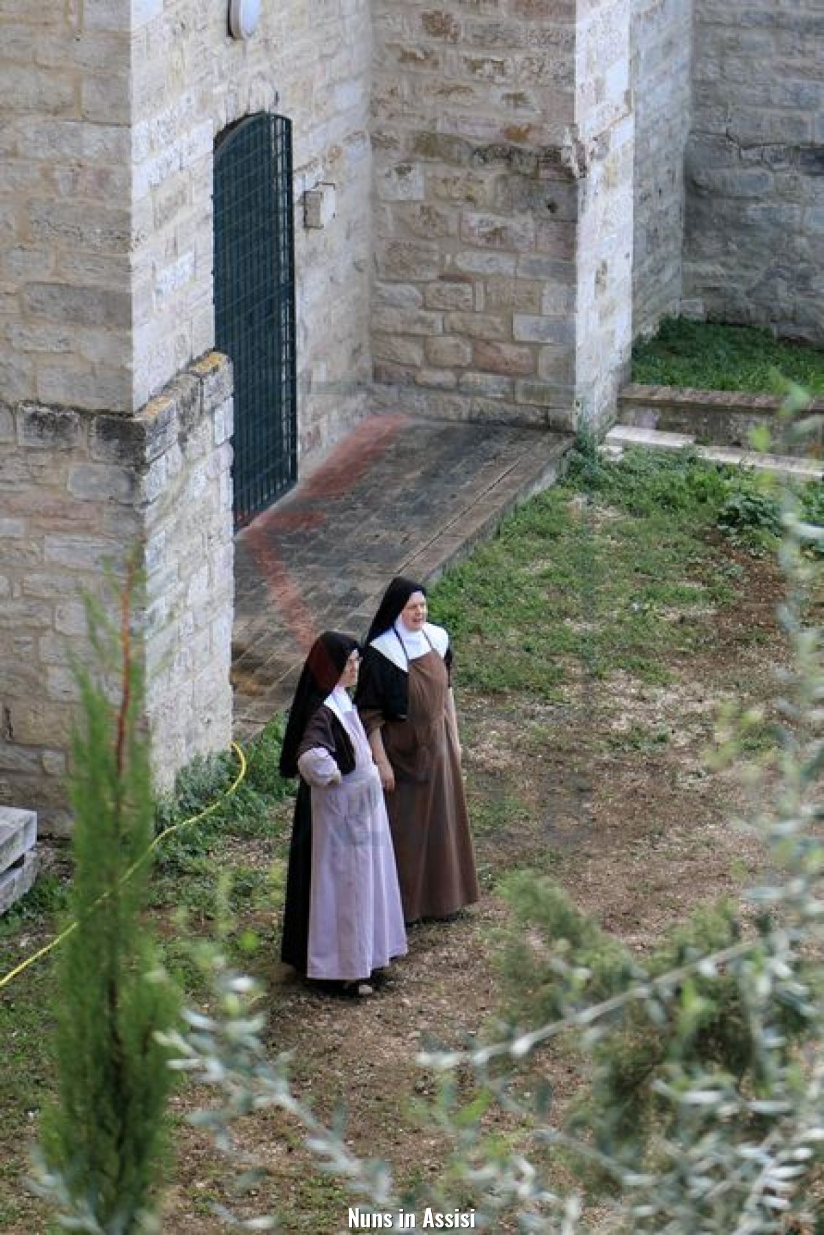 Nuns in Assisi