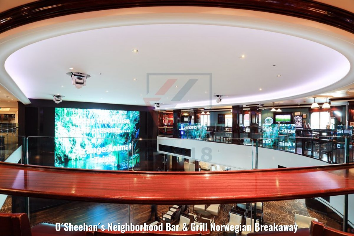 O´Sheehan´s Neighborhood Bar & Grill Norwegian Breakaway