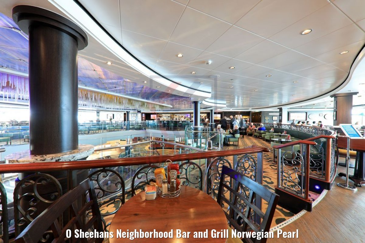 O Sheehans Neighborhood Bar and Grill Norwegian Pearl