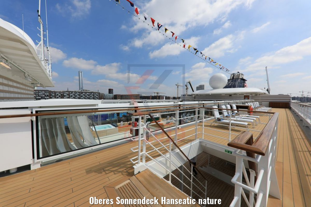 Oberes Sonnendeck Hanseatic nature