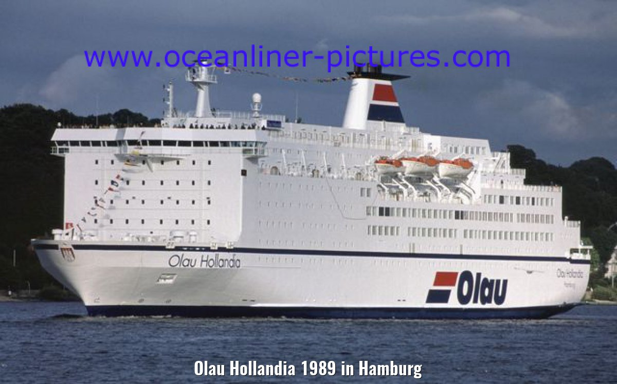 Olau Hollandia 1989 in Hamburg