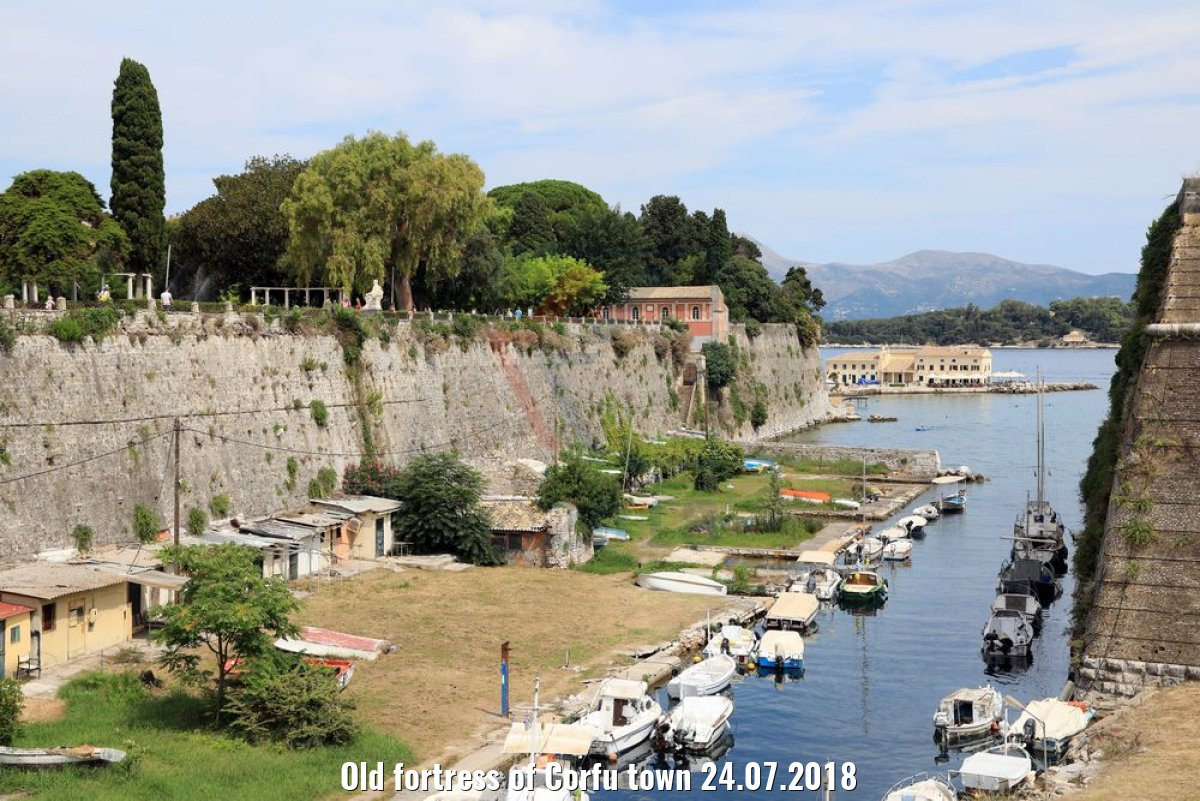 Old fortress of Corfu town 24.07.2018