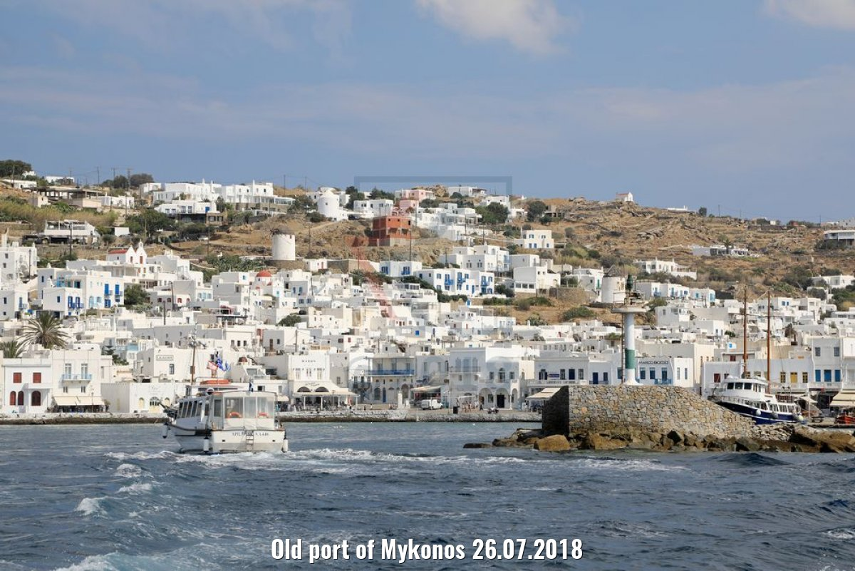 Old port of Mykonos 26.07.2018