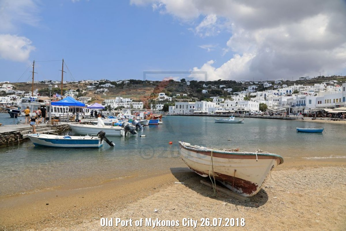 Old Port of Mykonos City 26.07.2018