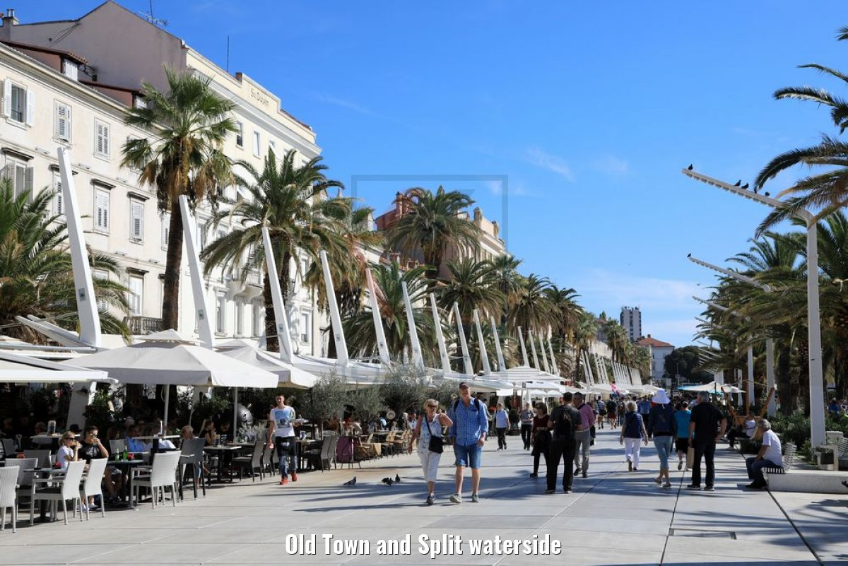Old Town and Split waterside