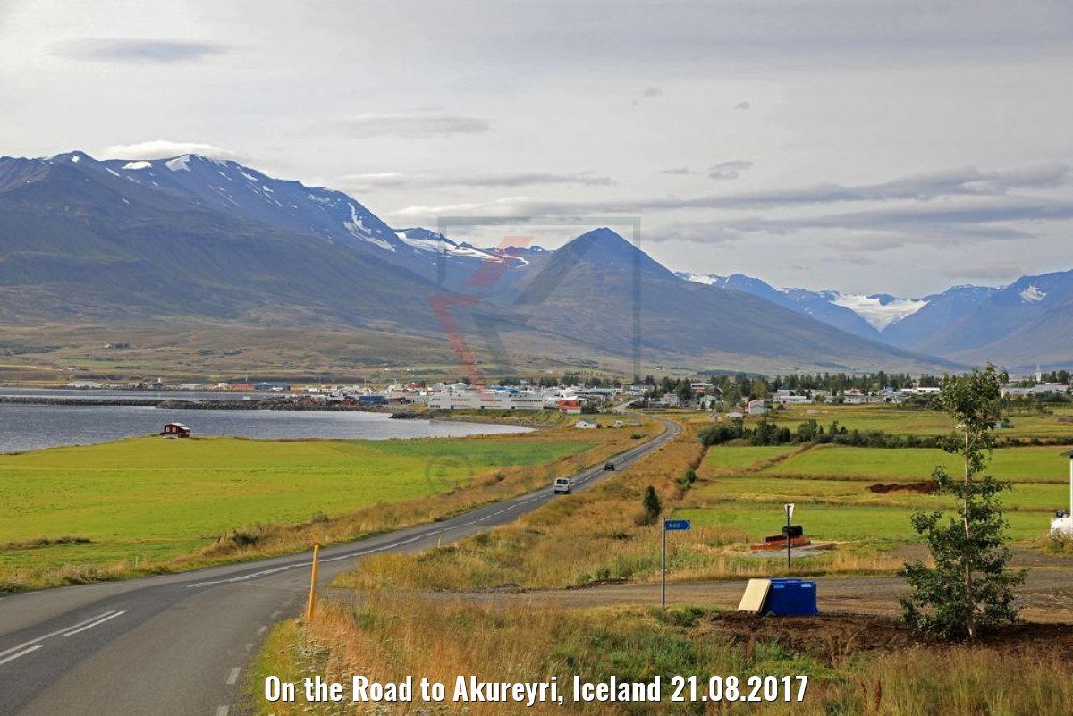 On the Road to Akureyri, Iceland 21.08.2017