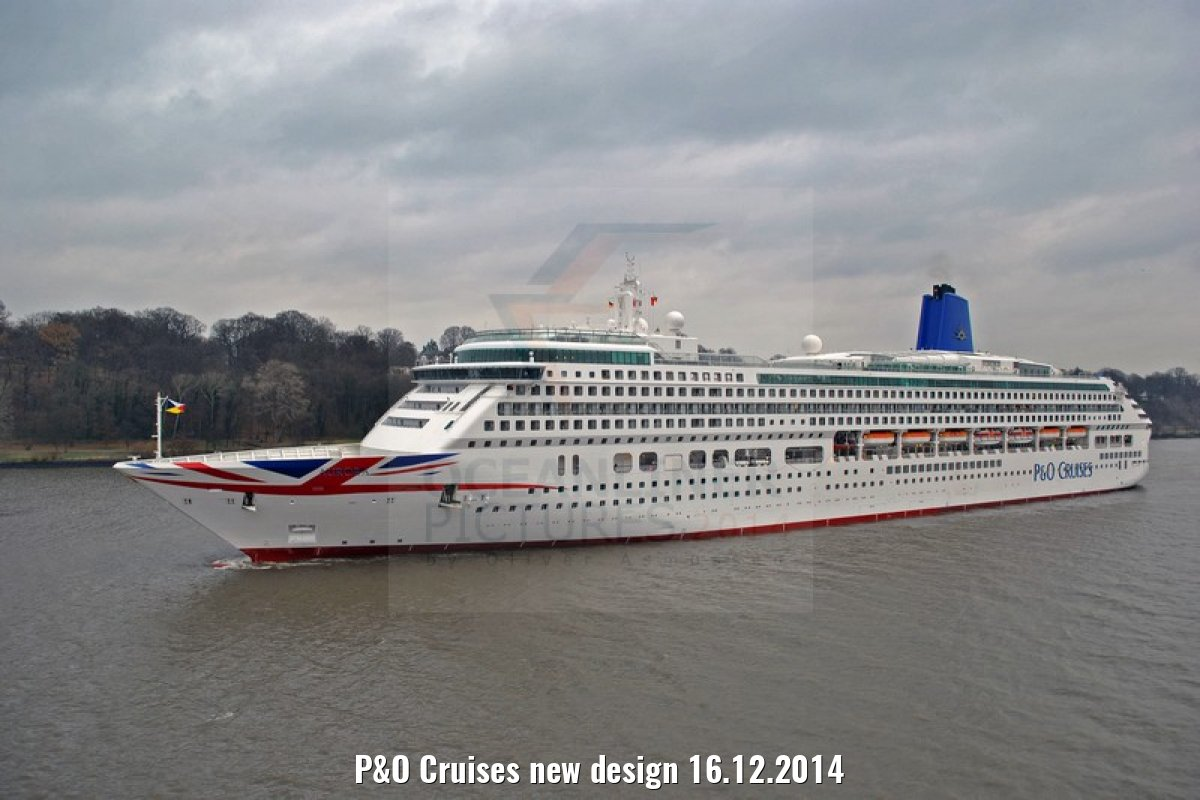 P&O Cruises new design 16.12.2014