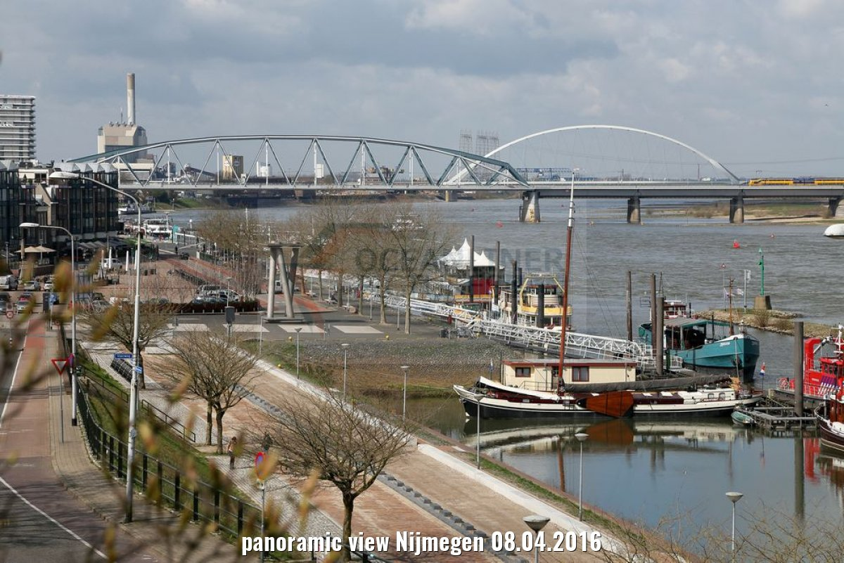 panoramic view Nijmegen 08.04.2016