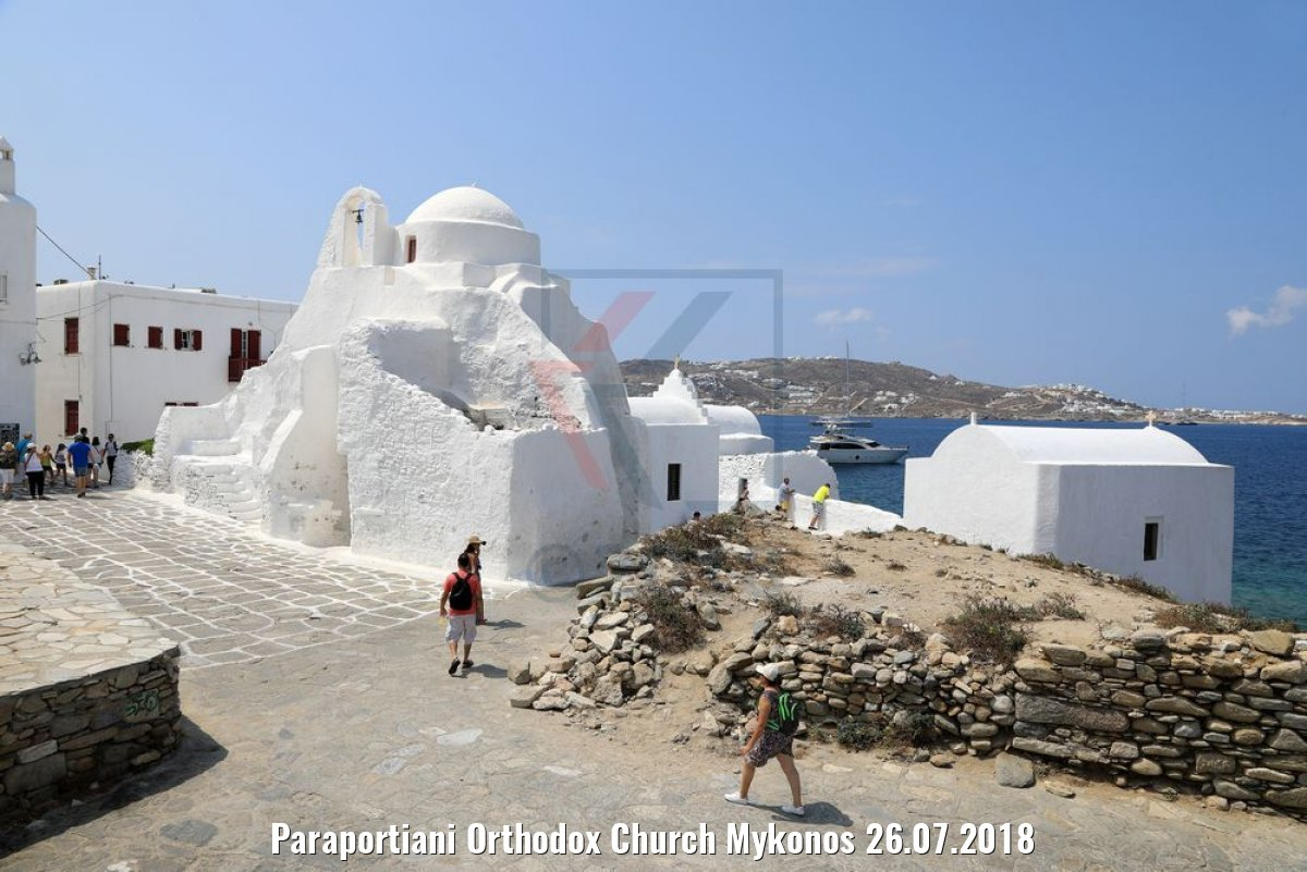 Paraportiani Orthodox Church Mykonos 26.07.2018