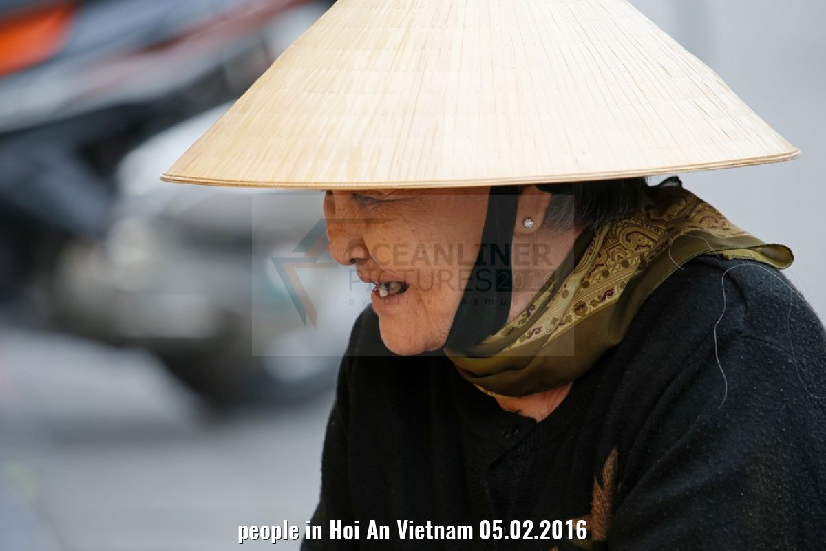 people in Hoi An Vietnam 05.02.2016