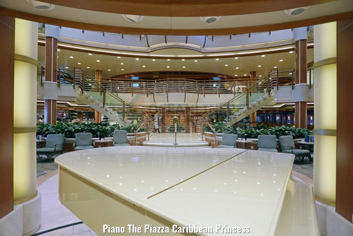 Piano The Piazza Caribbean Princess