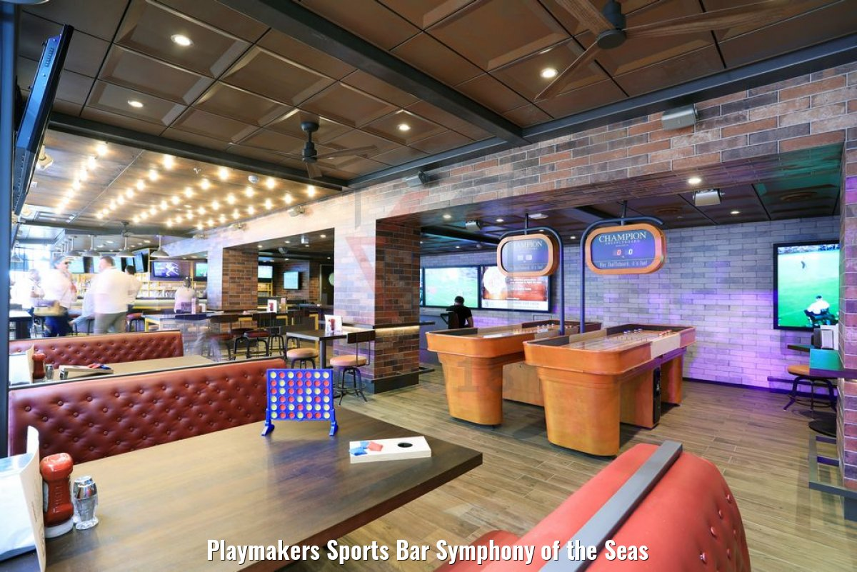 Playmakers Sports Bar Symphony of the Seas