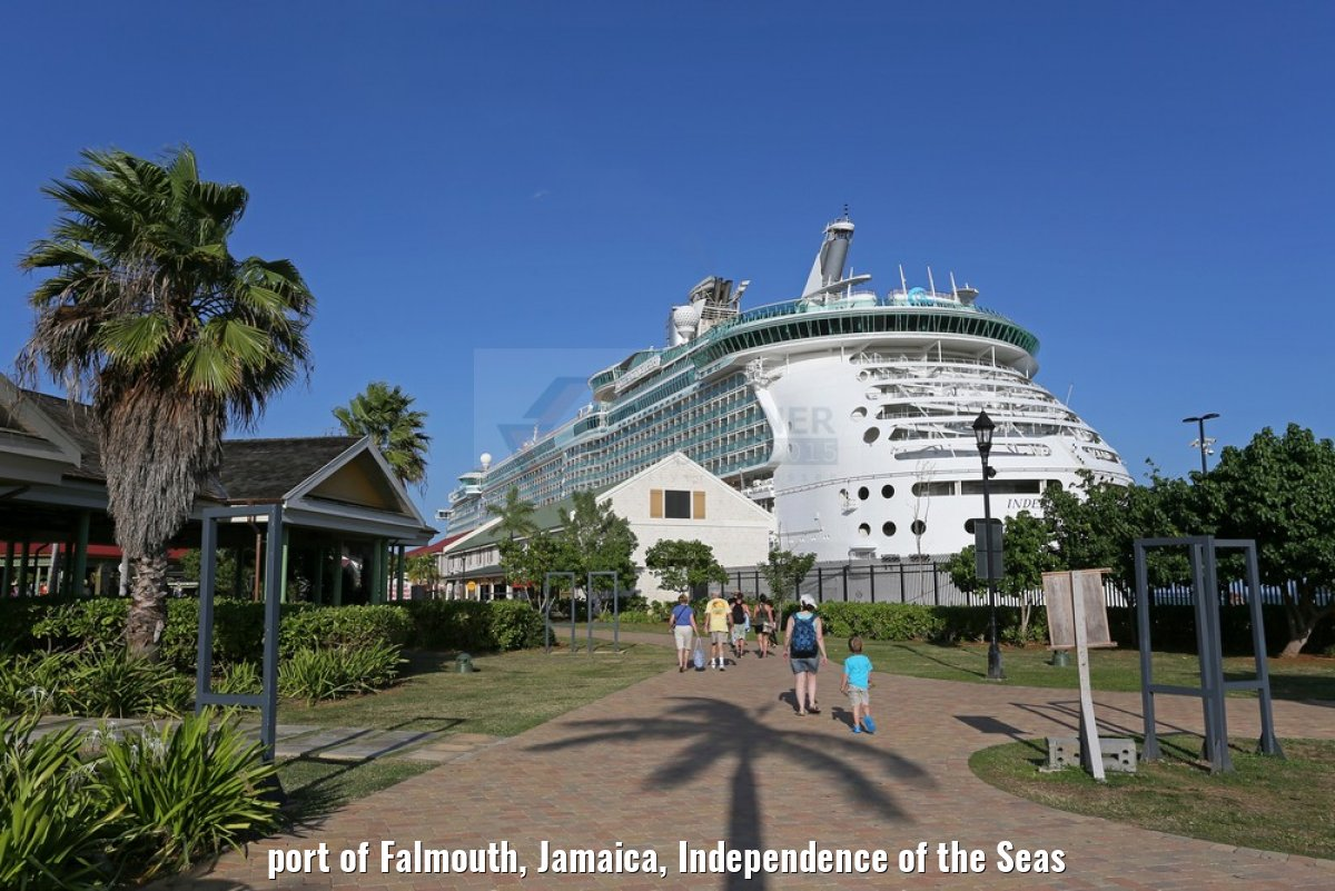 port of Falmouth, Jamaica, Independence of the Seas