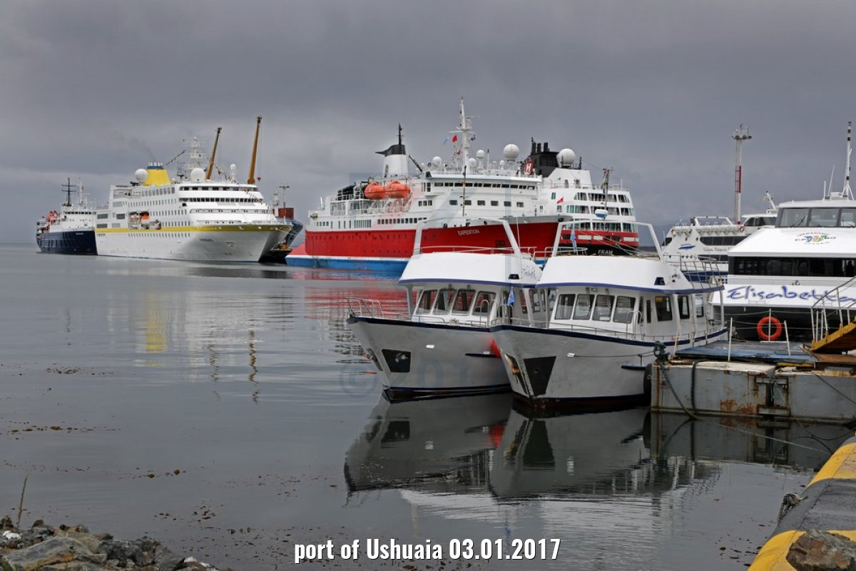 port of Ushuaia 03.01.2017