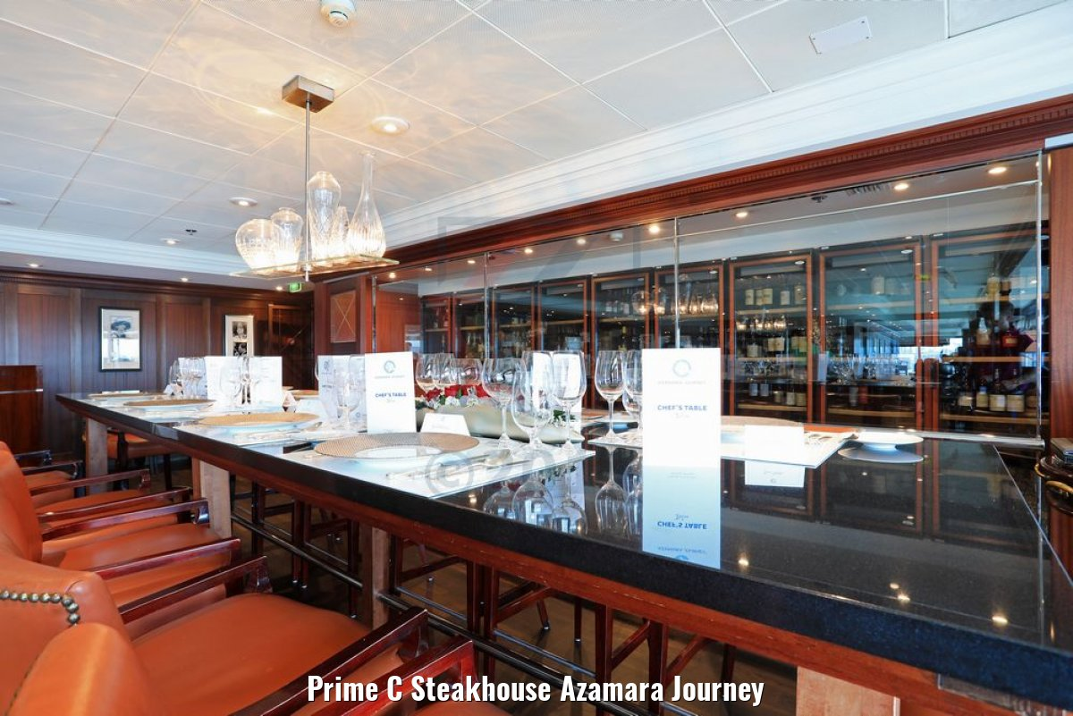 Prime C Steakhouse Azamara Journey