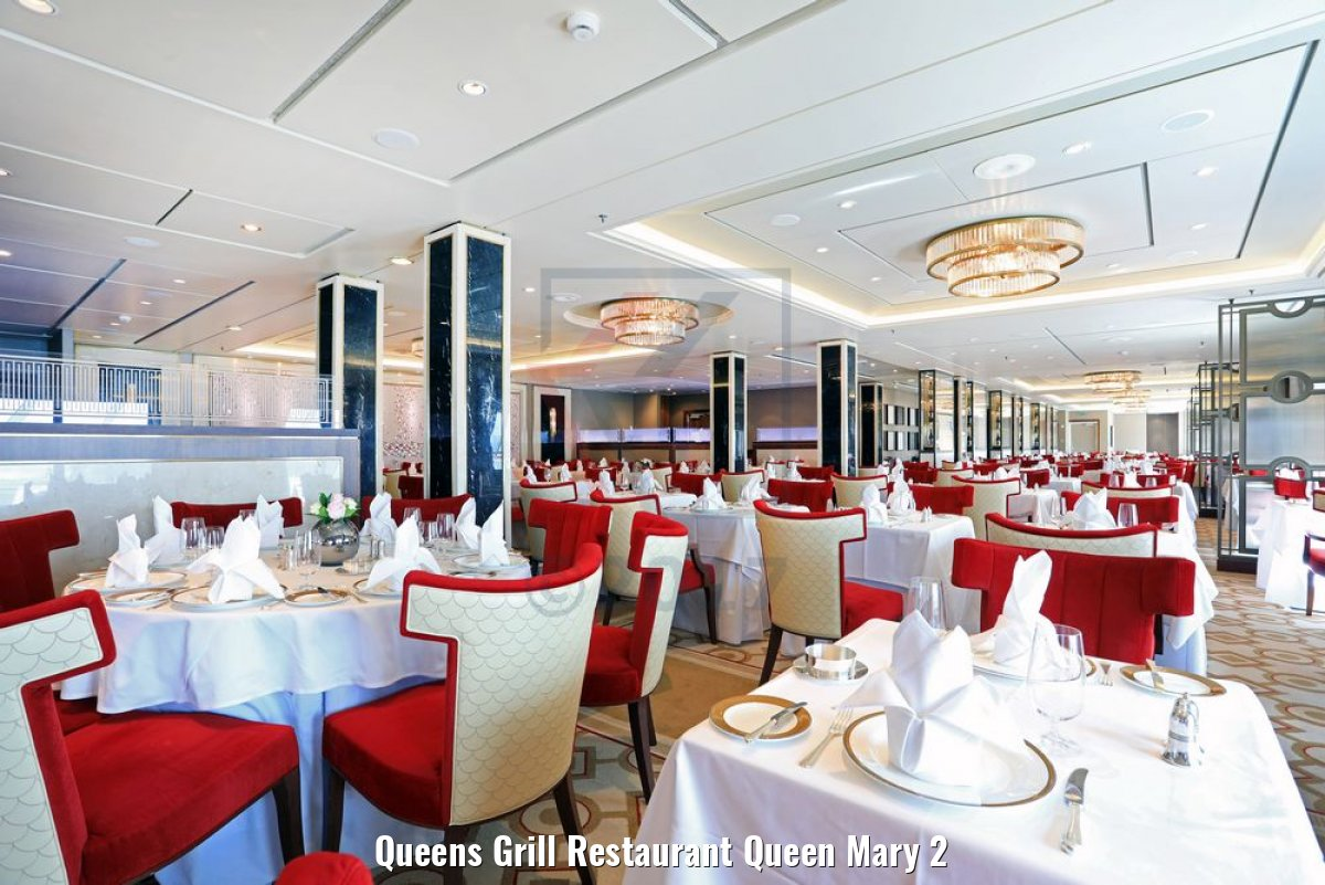 Queens Grill Restaurant Queen Mary 2