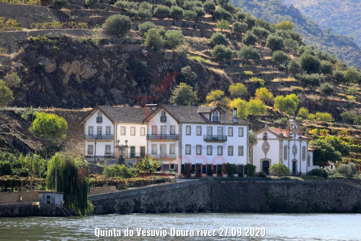 Quinta do Vesuvio Douro river 27.09.2020
