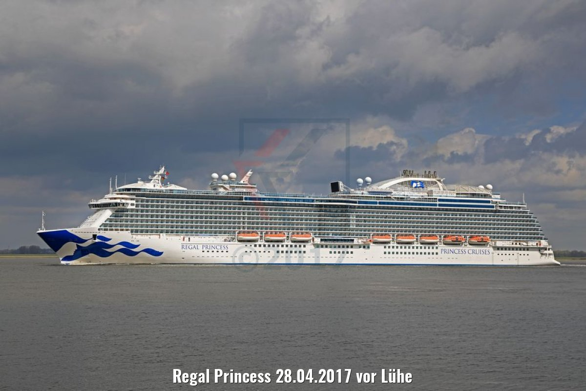 Regal Princess 28.04.2017 vor Lühe