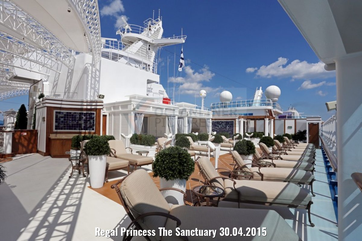 Regal Princess The Sanctuary 30.04.2015
