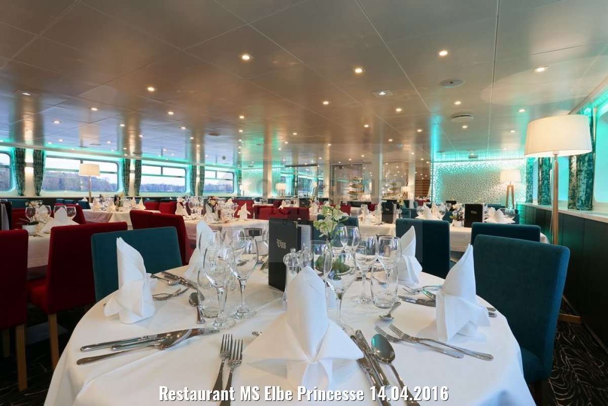 Restaurant MS Elbe Princesse 14.04.2016