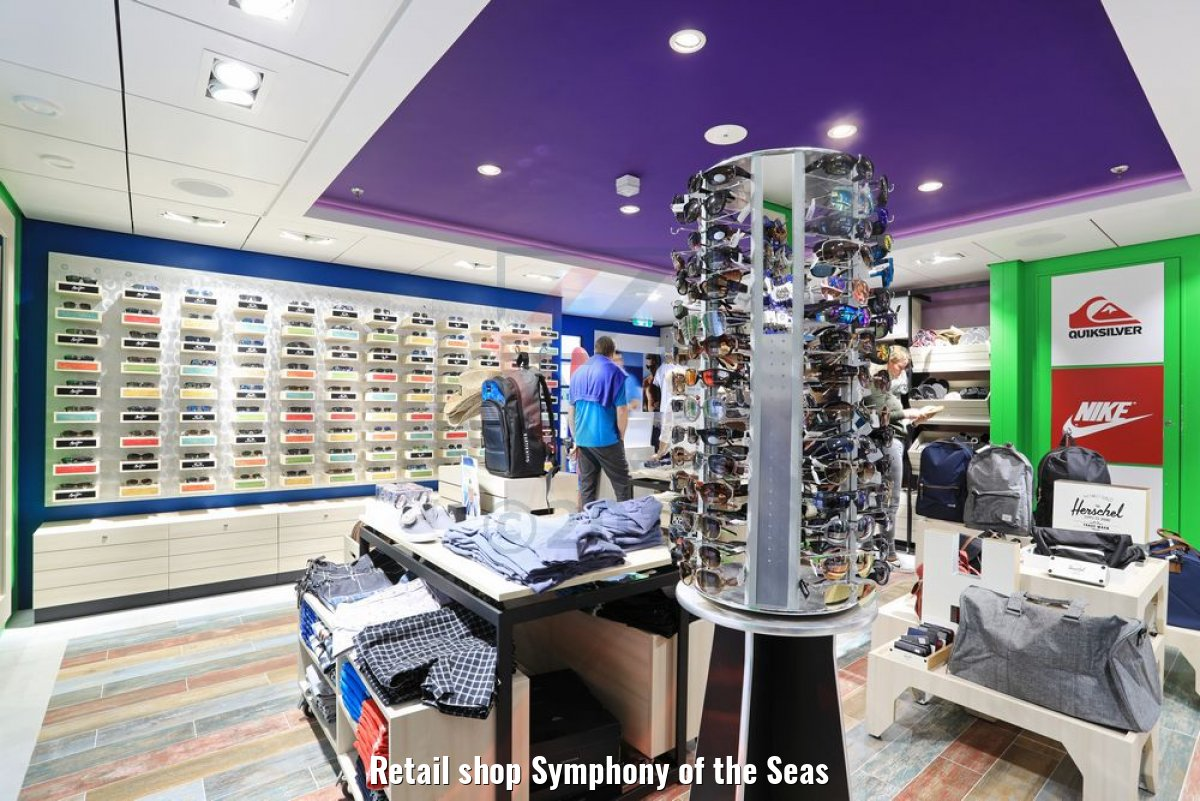 Retail shop Symphony of the Seas