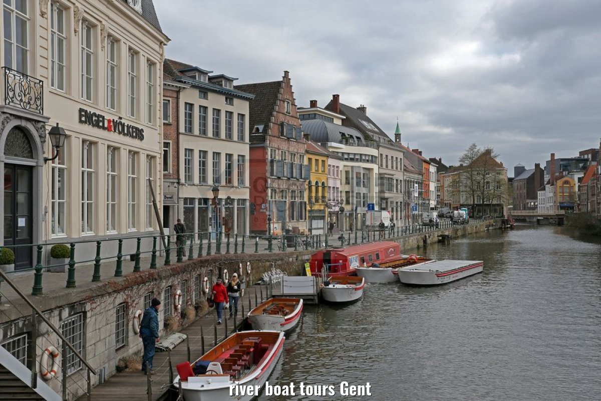 river boat tours Gent