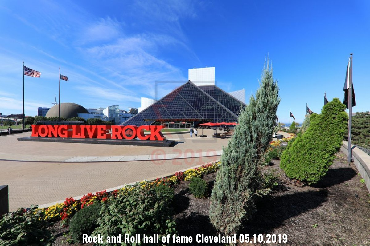 Rock and Roll hall of fame Cleveland 05.10.2019