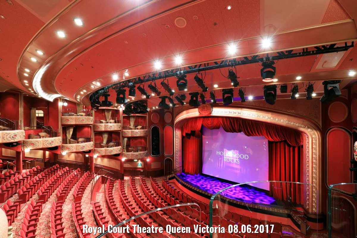 Royal Court Theatre Queen Victoria 08.06.2017