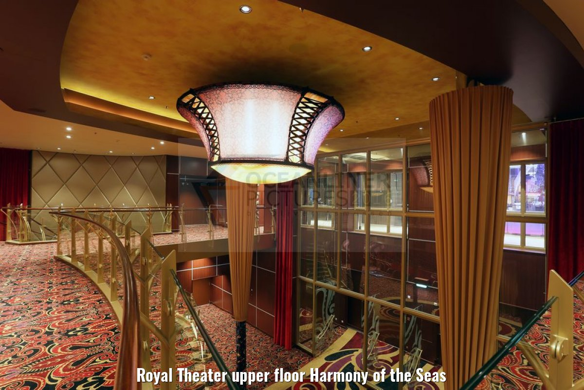 Royal Theater upper floor Harmony of the Seas