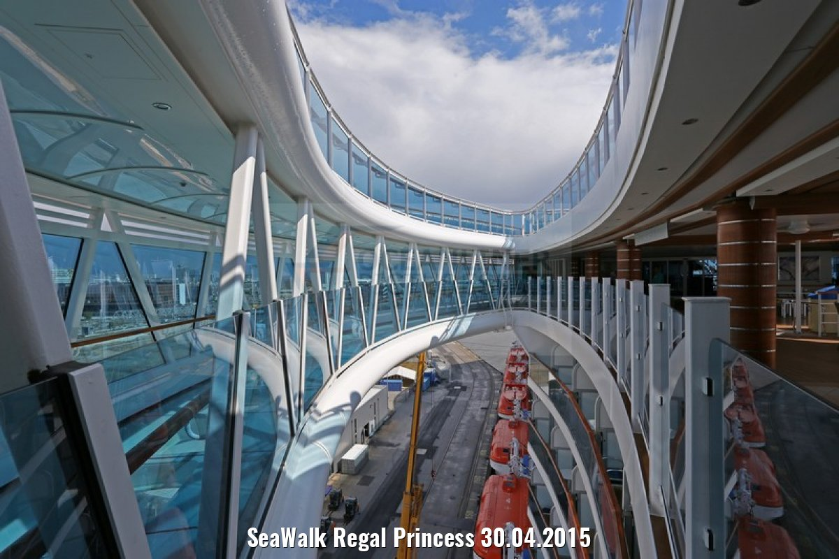 SeaWalk Regal Princess 30.04.2015