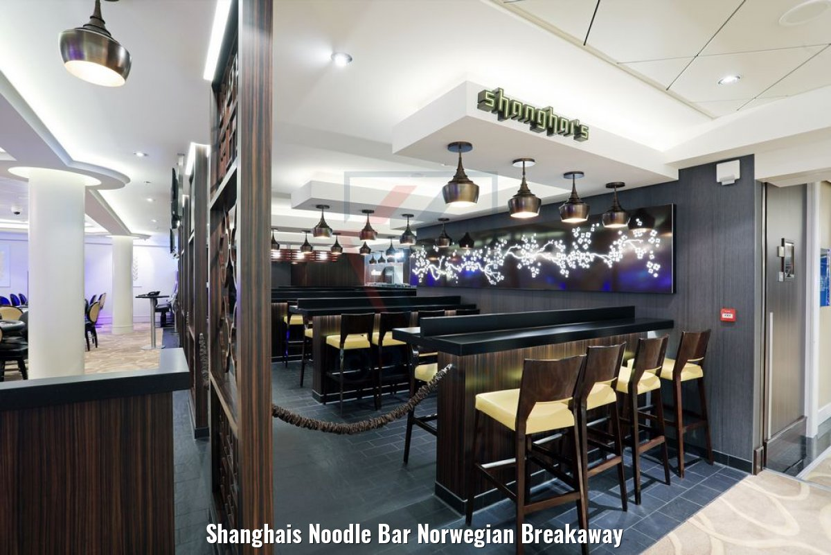 Shanghais Noodle Bar Norwegian Breakaway