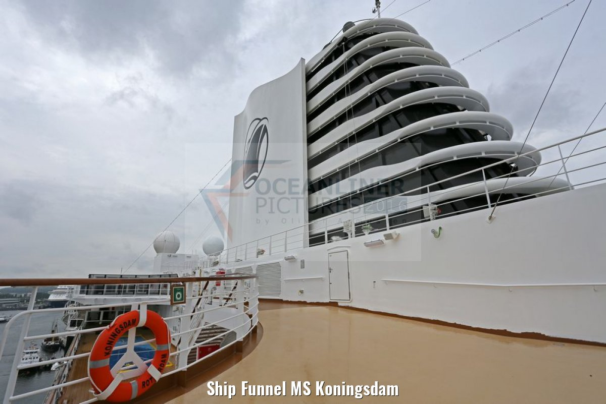 Ship Funnel MS Koningsdam