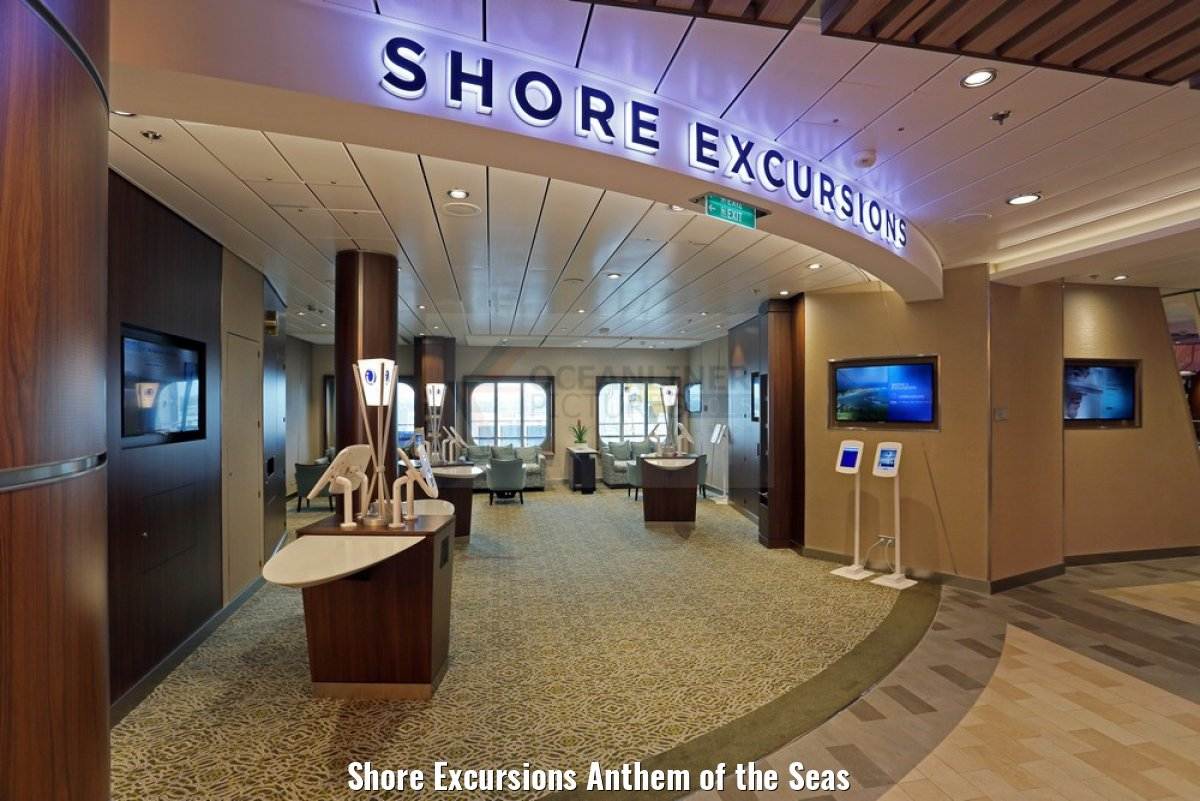 Shore Excursions Anthem of the Seas