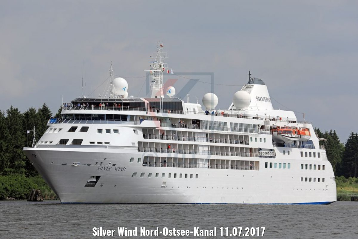 Silver Wind Nord-Ostsee-Kanal 11.07.2017