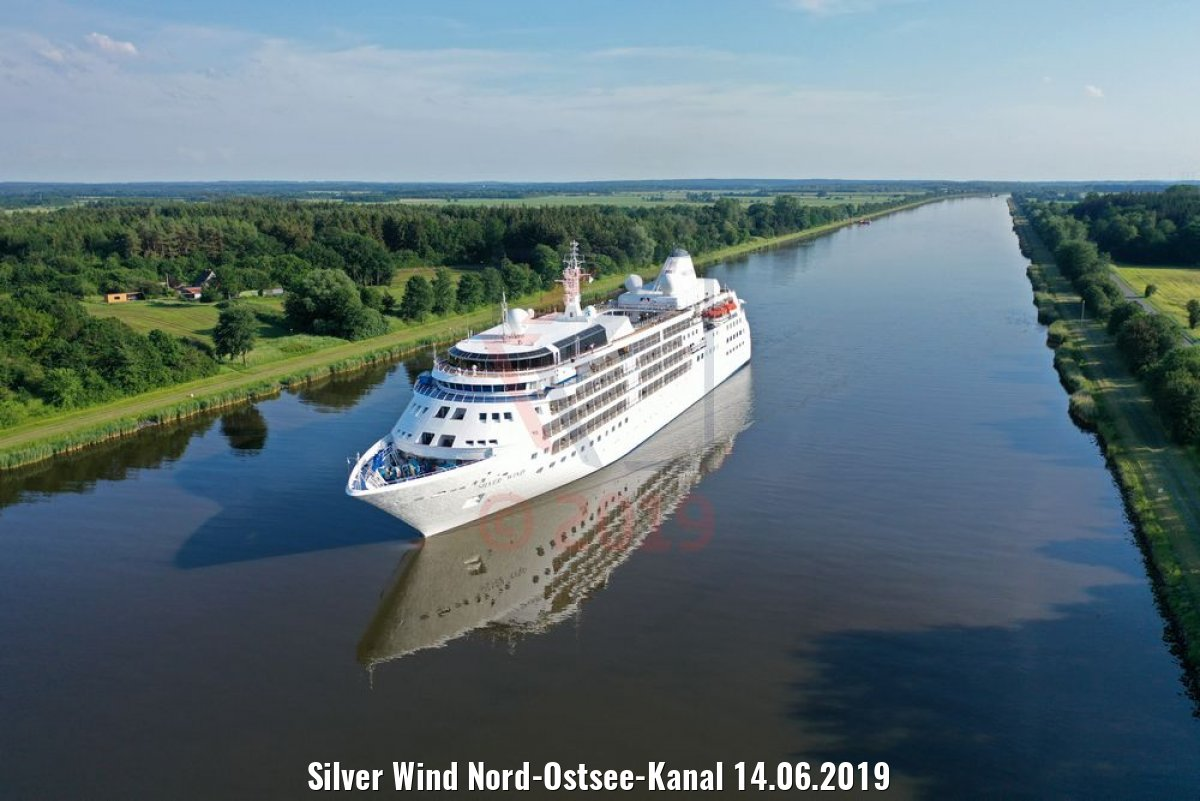 Silver Wind Nord-Ostsee-Kanal 14.06.2019