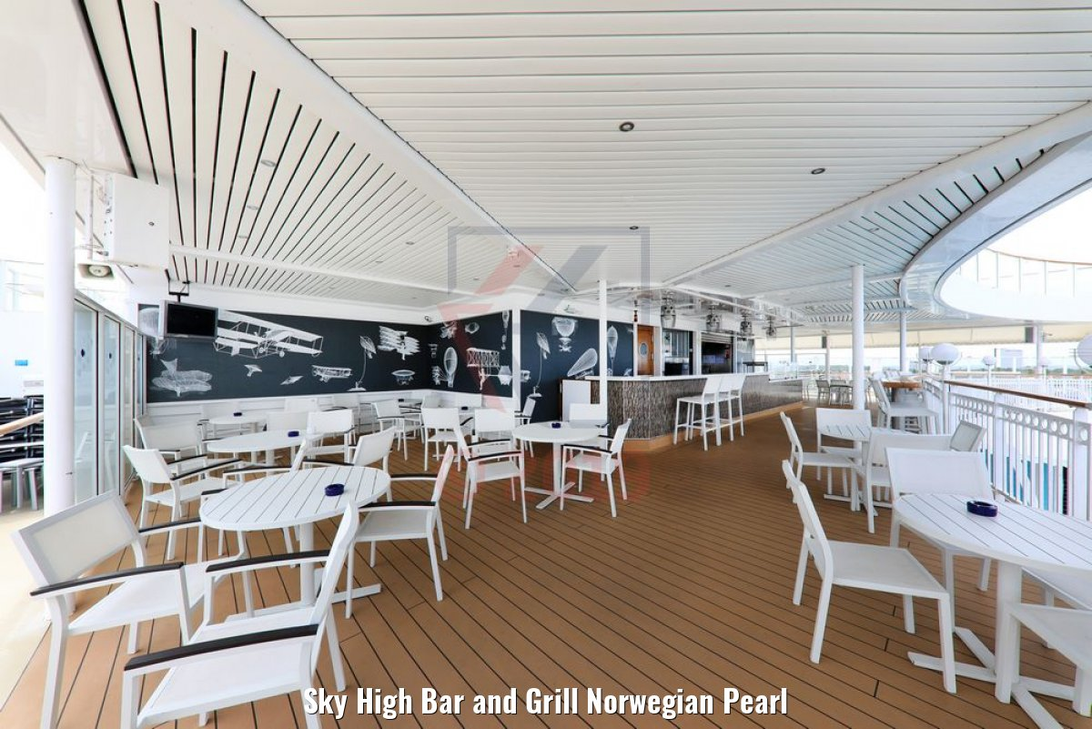 Sky High Bar and Grill Norwegian Pearl
