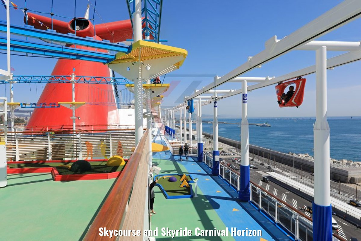 Skycourse and Skyride Carnival Horizon