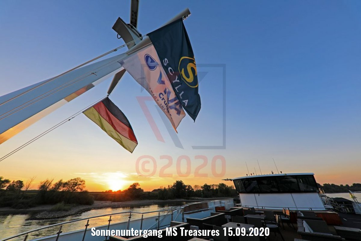 Sonnenuntergang MS Treasures 15.09.2020