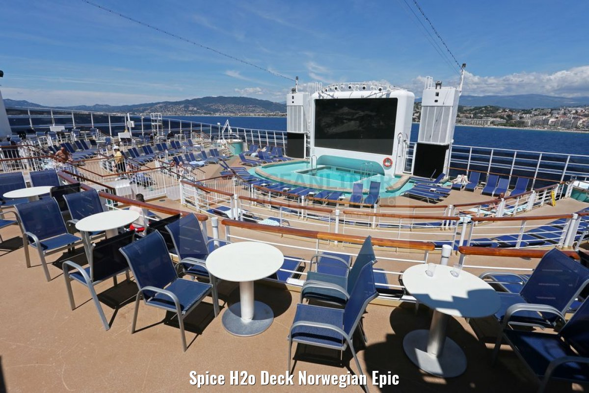 Spice H2o Deck Norwegian Epic