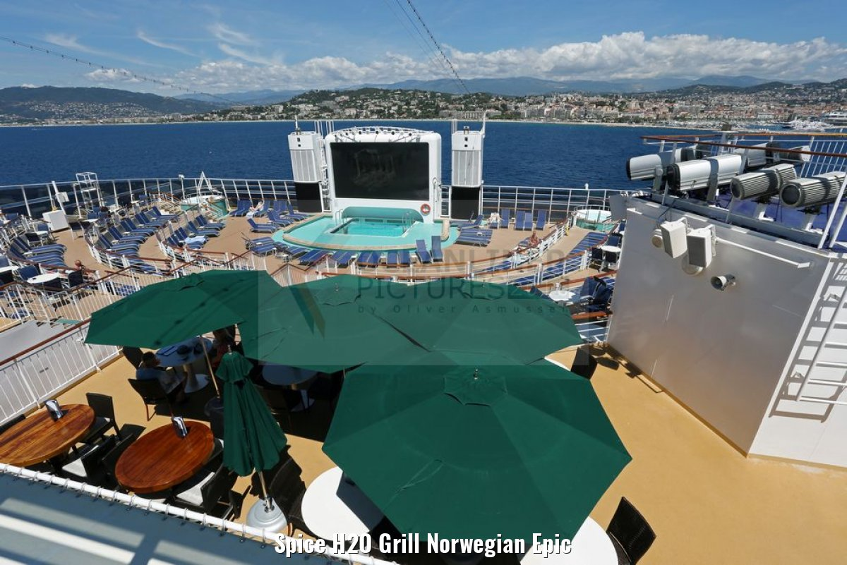 Spice H2O Grill Norwegian Epic