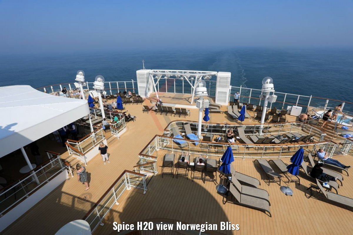Spice H2O view Norwegian Bliss