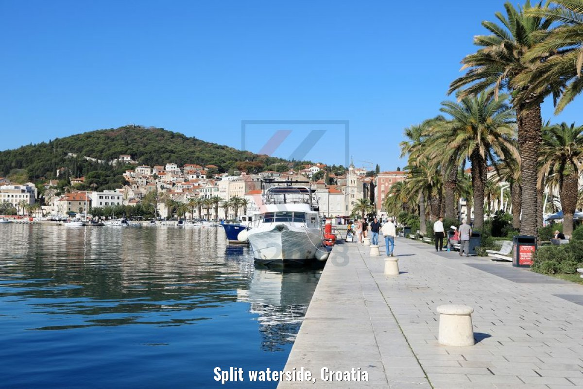 Split waterside, Croatia