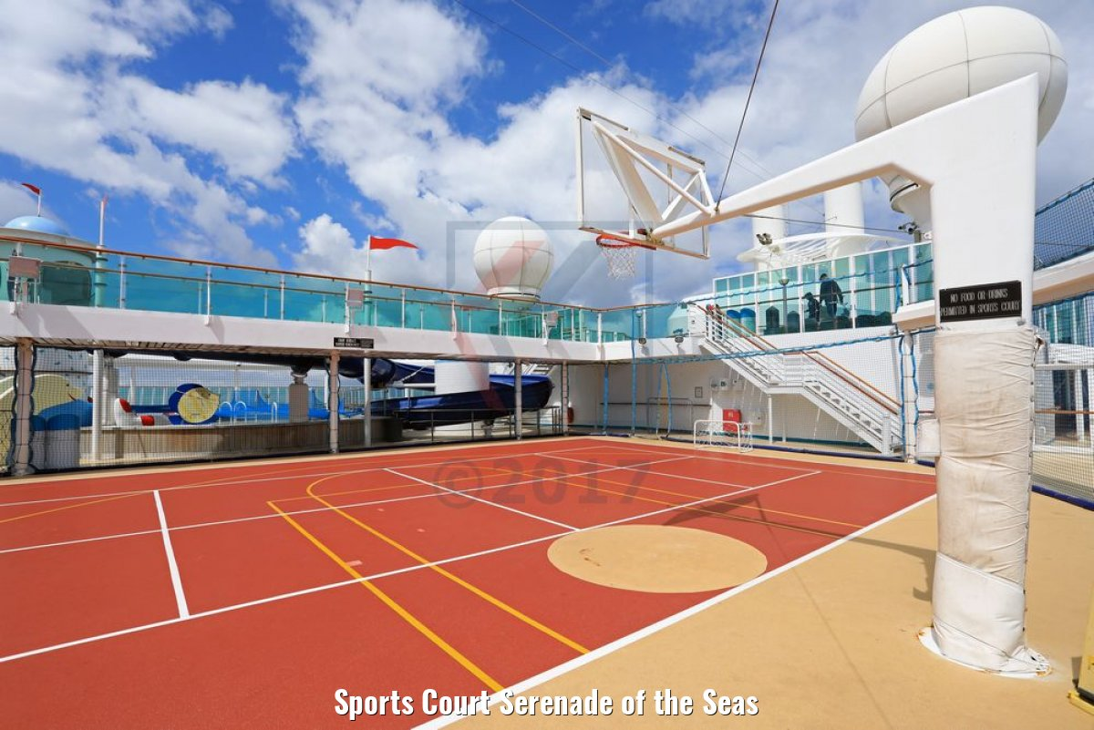 Sports Court Serenade of the Seas