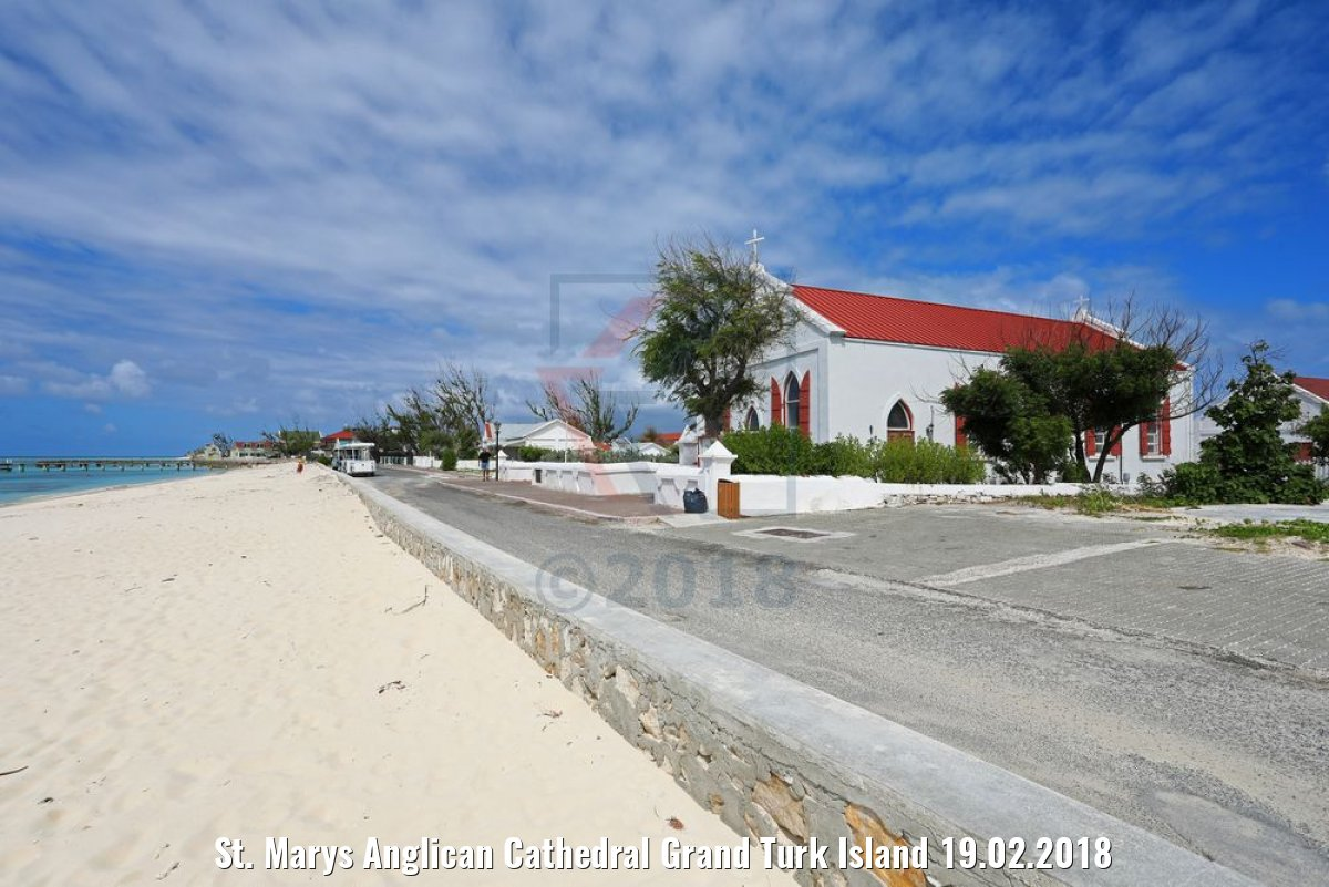 St. Marys Anglican Cathedral Grand Turk Island 19.02.2018