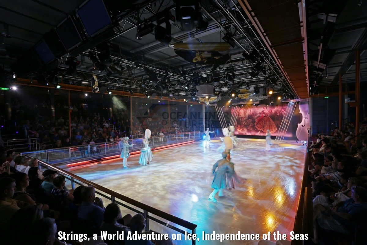 Strings, a World Adventure on Ice, Independence of the Seas