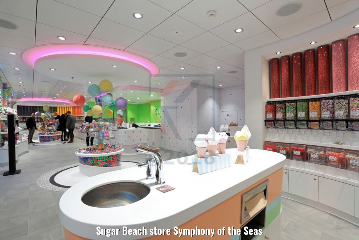 Sugar Beach store Symphony of the Seas
