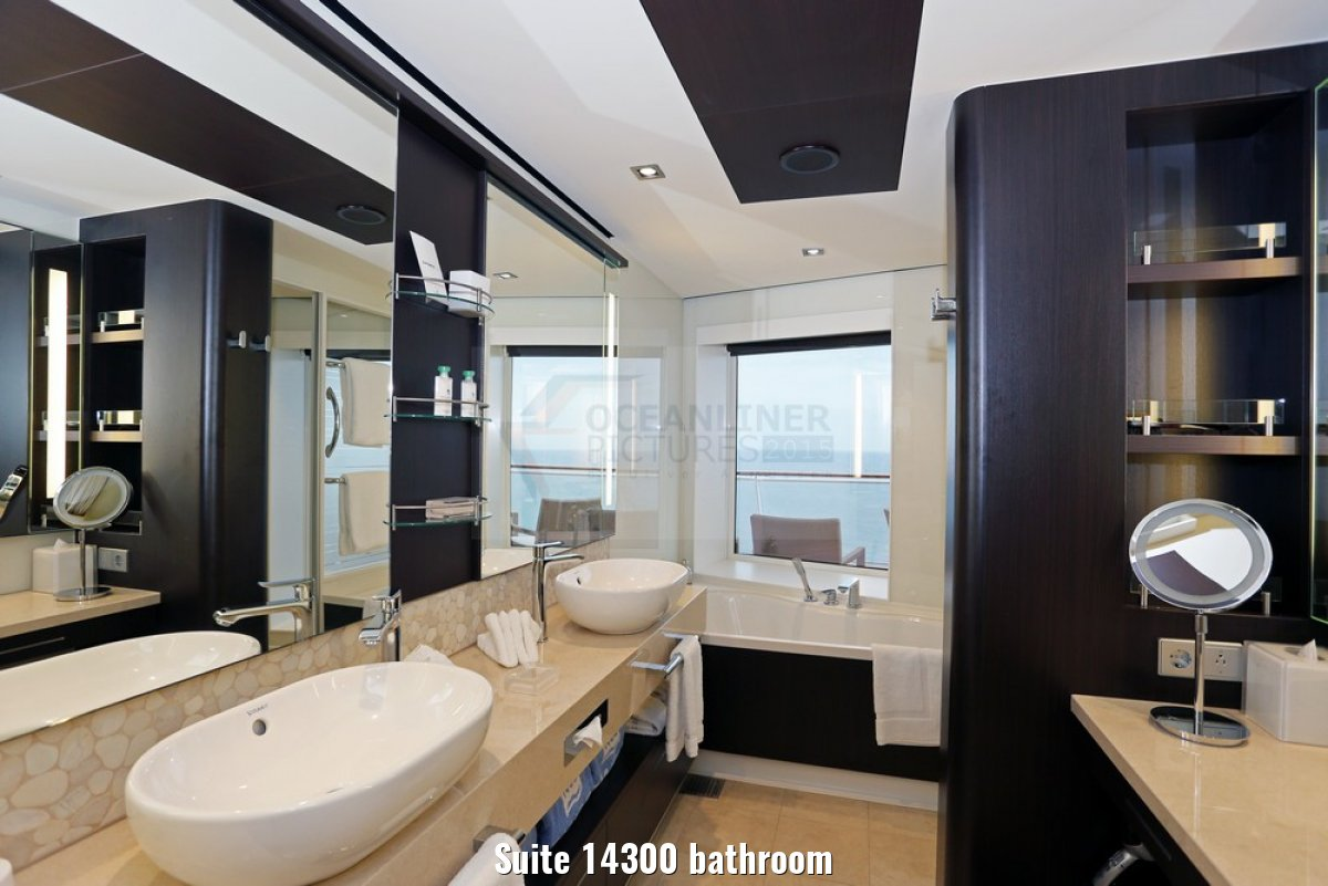 Suite 14300 bathroom