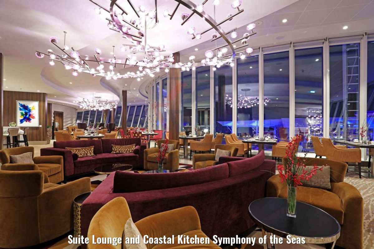 Suite Lounge and Coastal Kitchen Symphony of the Seas