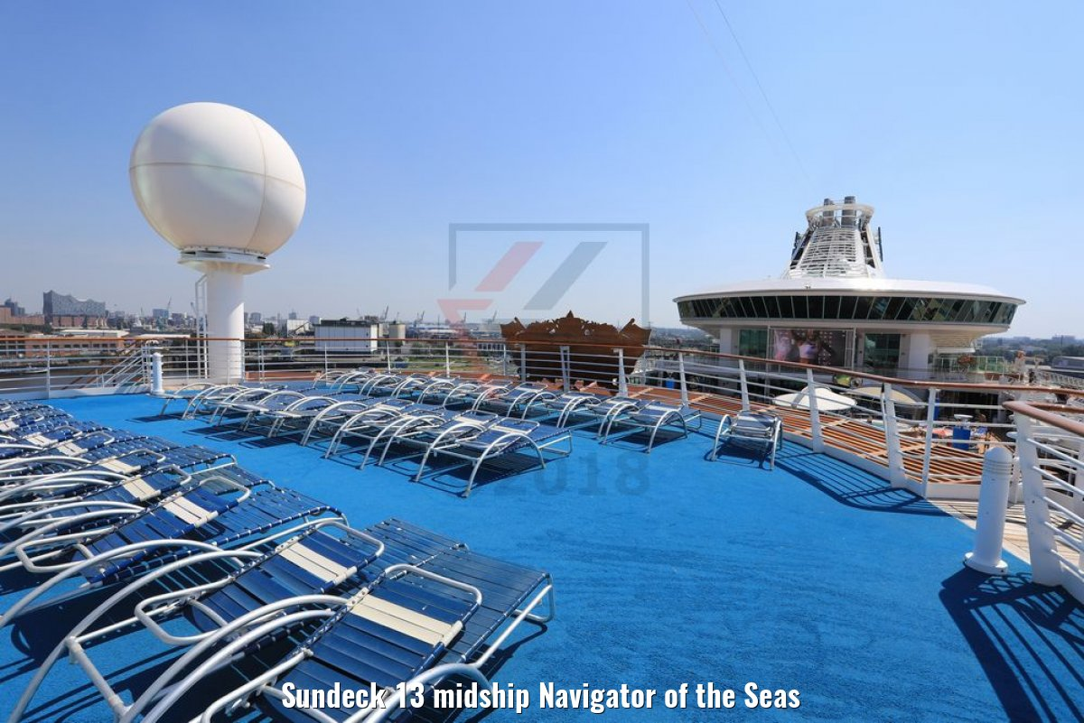 Sundeck 13 midship Navigator of the Seas